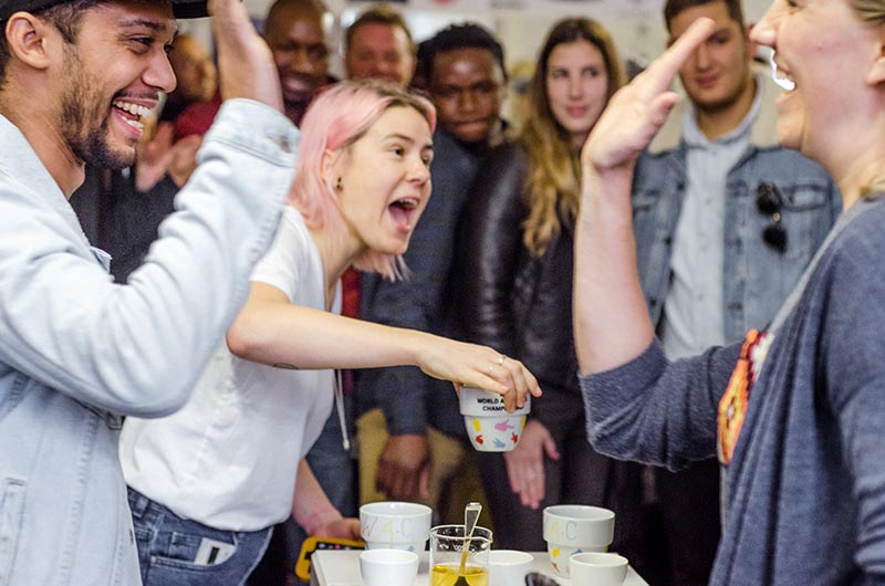 A Coffee Party – The AeroPress Championships As Experiential Marketing