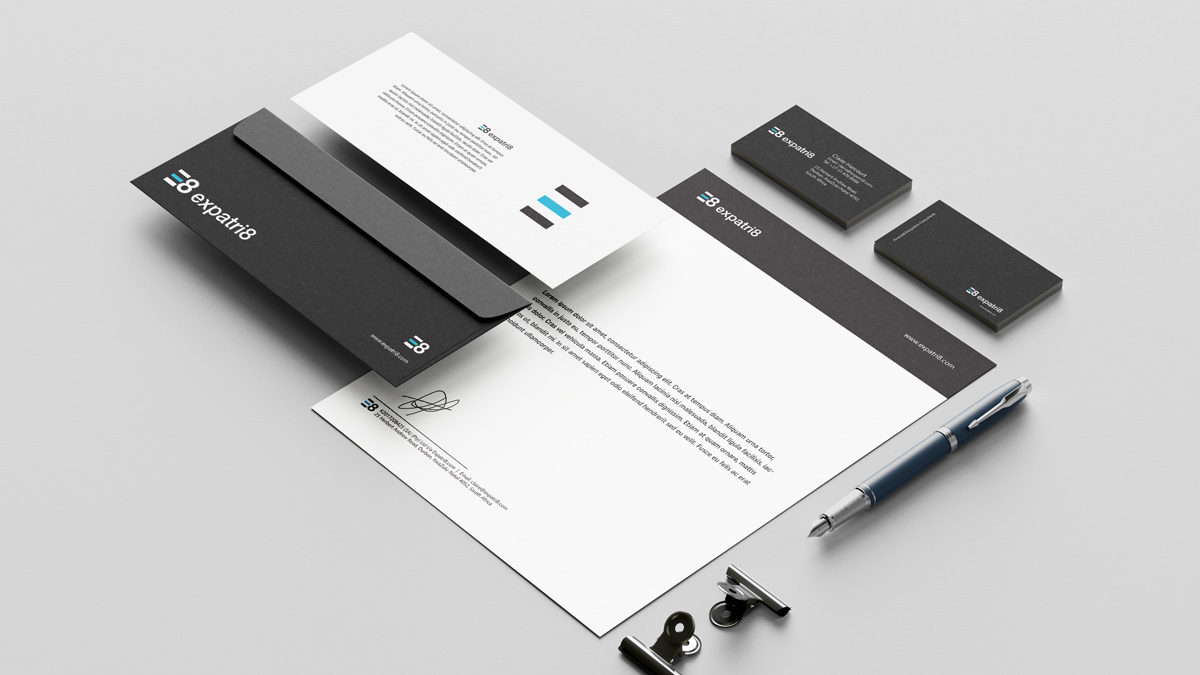 Brand, Web Design & Communications for Financial Emigration Firm